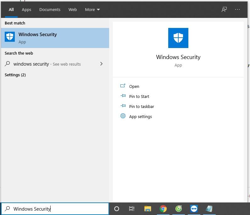 Cách Tắt Windows Security trên Windows 10 để crack phần mềm 1