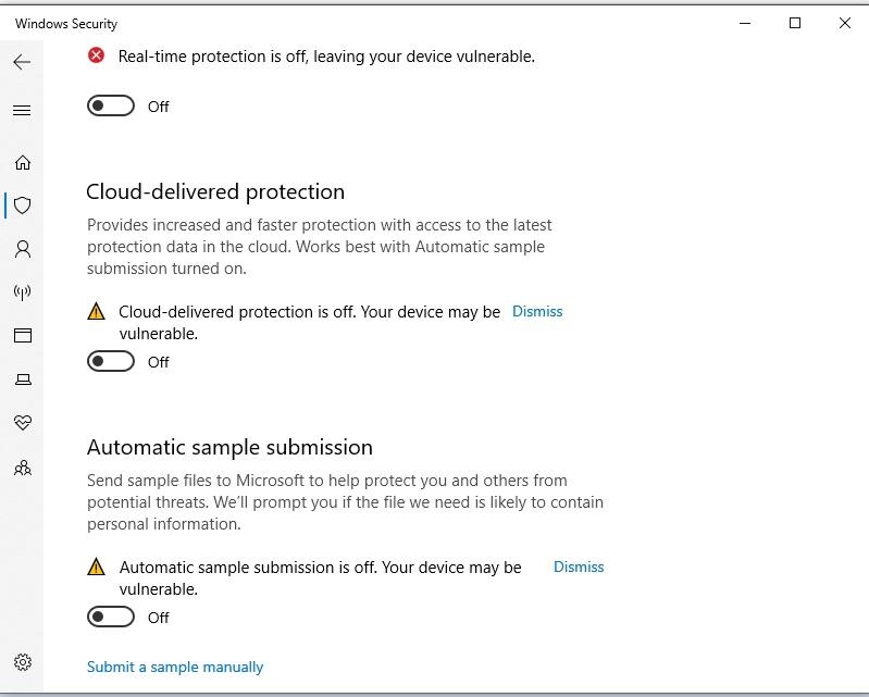 Cách Tắt Windows Security trên Windows 10 để crack phần mềm 3
