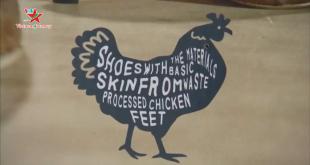 Giày da gà mốt mới của năm hướng tới thời trang bền vững
