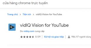 Hướng dẫn cách sử dụng vidIQ đơn giản để SEO Youtube hiệu quả