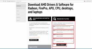 hướng dẫn khắc phục lỗi windows 10 không nhận driver card amd